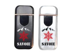 Briquet usb souvenir de Savoie
