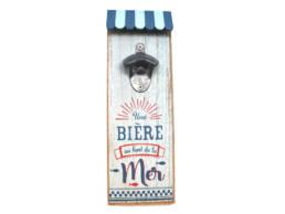 Cadeau souvenir bière plage