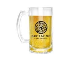 Chope de bière Bretagne