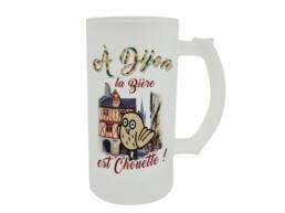 Chope de bière Dijon