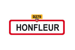 Magnet frigo Normandie Honfleur