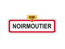 Magnet panneau Noirmoutier Vendee