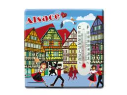 Magnet thermomètre Alsace
