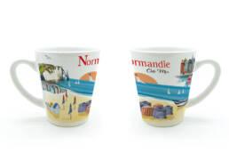 Tasse idée cadeau Normandie