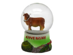 Cadeau souvenir boule à neige Auvergne