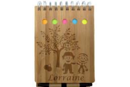 Calepin a spirale Lorraine