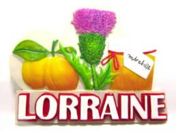 Magnet résine Lorraine