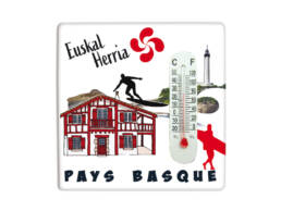 Magnet thermo cadeau Pays basque