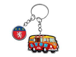 Porte clés cadeau original Lyon