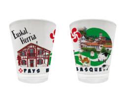 Verre à liqueur cadeau Pays basque